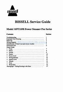 Bissell 1697 Service Manual Pdf Download