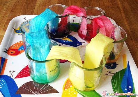 jeux de cuisine pour bébé trois expériences sur le mélange des couleurs à faire avec