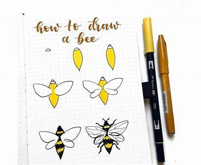 Draw Easy Step Journal Bullet Examples Drawing