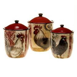 rooster canisters kitchen products kitchen canisters jars type canning jars canisters material ceramic wayfair