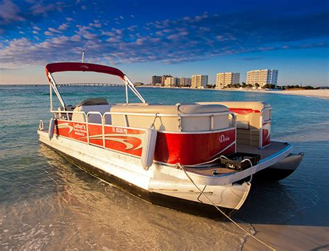 Pontoon Boat Destin Fl by Destin Pontoon Boat Rental With Gilligan S