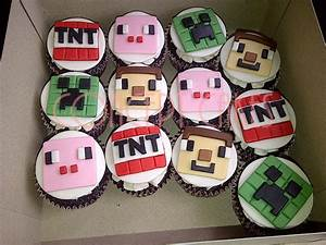Minecraft Cupcakes - cake by Concept Cakes (Maikko ...