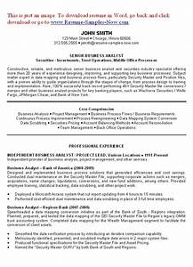 Resume Writing Templates Free Business Analyst Resume Examples Objectives You Have To