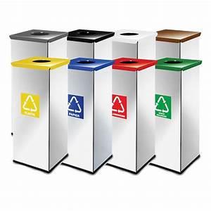 Poubelle De Tri Selectif : lot de 10 poubelle tri s lectif recylage eko star ~ Farleysfitness.com Idées de Décoration