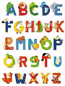 sevi animal letters animal letters wooden animal letters With children lettering