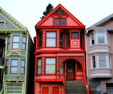 Painted Lady Victorian Houses Plans House Style Design