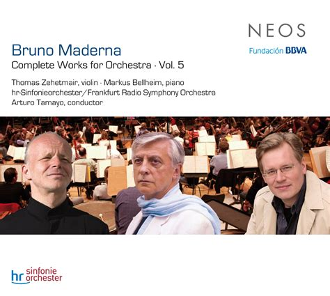 Complete Works For Orchestra Vol 5  Bruno Maderna Neos