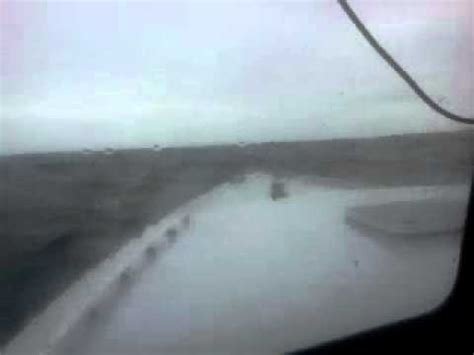 Lobster Boat In Rough Seas by Rough Seas On Maine Lobster Boat Youtube