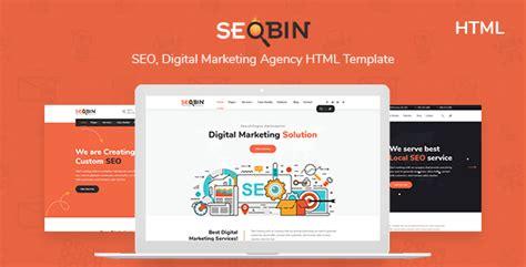 Digital Agency Seo Marketing Html Template Nulled by Seobin Seo Social Media And Marketing Html Template