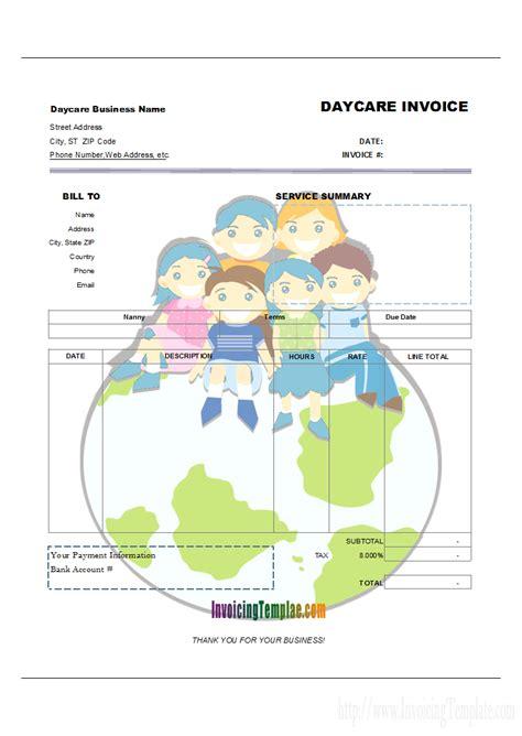 column invoice templates