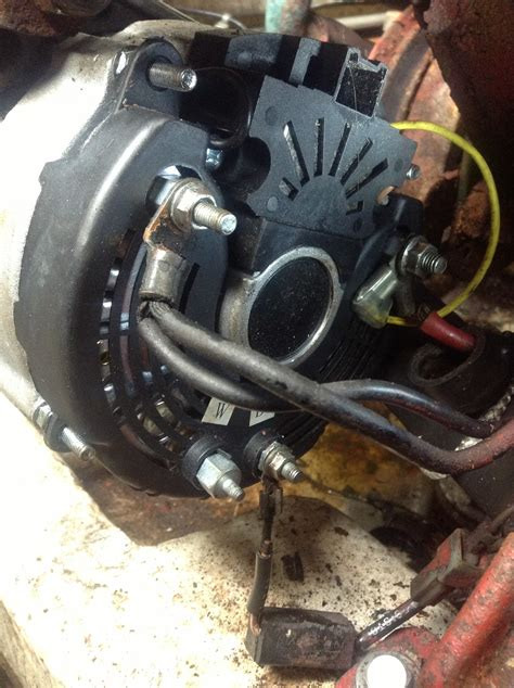 Installed The Alternator Boat Volvo Penta