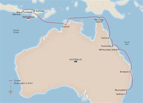komodo  australian coast bali  sydney cruise
