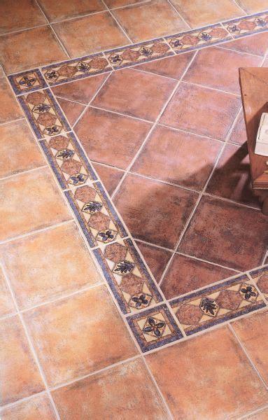 pavimenti in maiolica pavimento realizzato con cotto antico e maiolica decorata