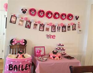 Minnie Mouse 1st Birthday Party | Birthday Parties | Pinterest