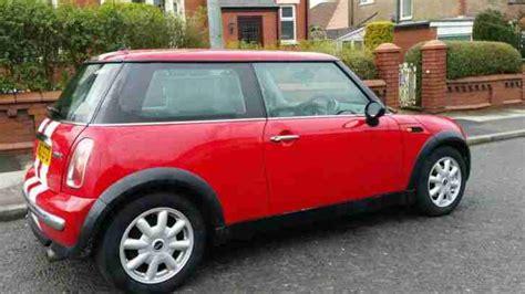 mini  cooper  red  white stripe car  sale