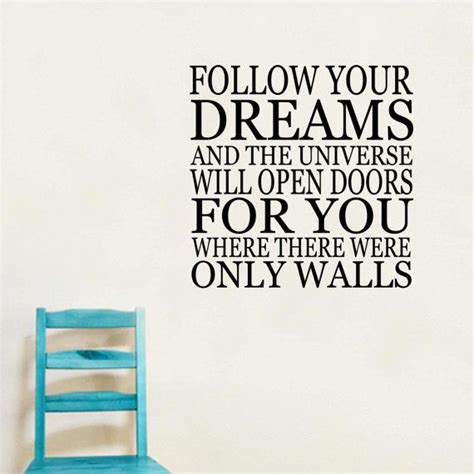 follow the quotes follow your dream inspirational quotes quotesgram