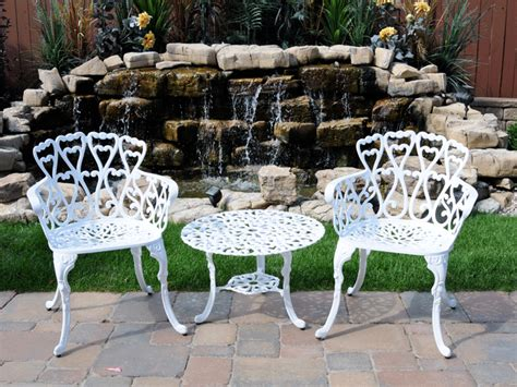 best paint for cast aluminum patio furniture how to take care of aluminum patio furniture chicpeastudio
