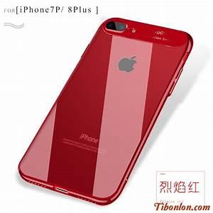 Coque Silicone Personnalisable : iphone 8 coque rouge apple ~ Dallasstarsshop.com Idées de Décoration