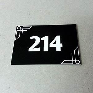 Plaque Numero Maison Design : plaque num ro de maison design plaque ~ Melissatoandfro.com Idées de Décoration
