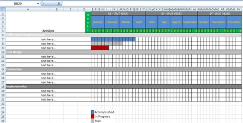 Phd Thesis Exle by Thesis Gantt Chart Exle
