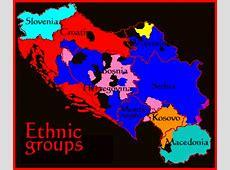 Ethnic groups in Former Yugoslavia