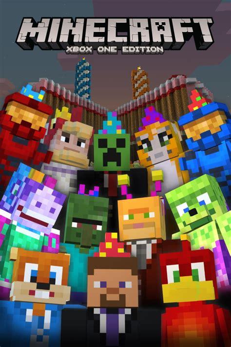 Minecraft Xbox One Edition 2nd Birthday Skin Pack 2014