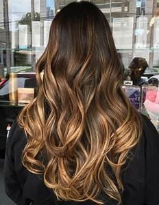 Ombré Hair Marron Caramel : balayage caramel hair en 2019 haarfarbe braun haar ~ Farleysfitness.com Idées de Décoration