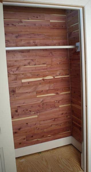 cedar closet wood cedar lined closet project