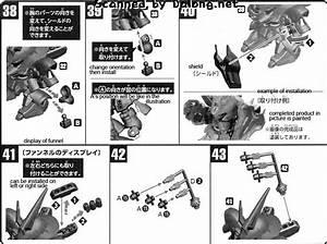 Sd Sazabi English Manual  U0026 Color Guide
