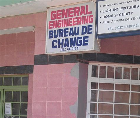 bureau de chnage general engineering bureau de change gambia co ltd
