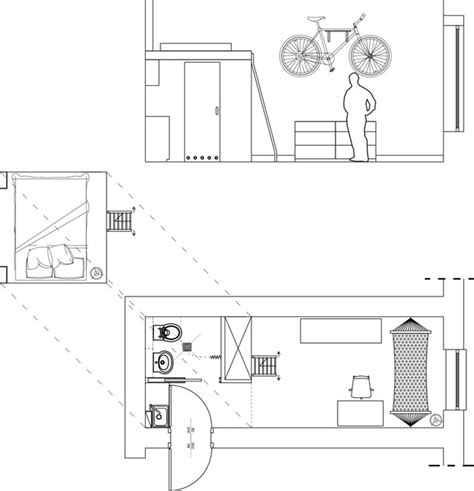 plan cuisine 12m2 aménager un petit studio de 12 m2