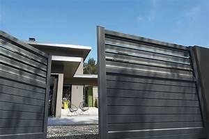 Portail Alu Coulissant 3m : portail alu battant 3m portail battant aluminium m with ~ Edinachiropracticcenter.com Idées de Décoration
