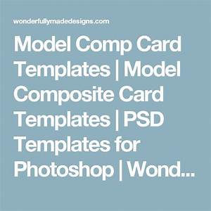 best 25 model comp card ideas on pinterest model With free model comp card template psd