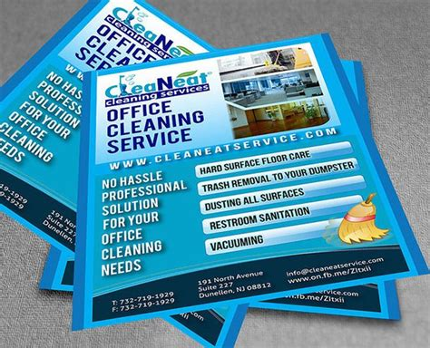 8 Best Cleaning Flyers Images On Pinterest