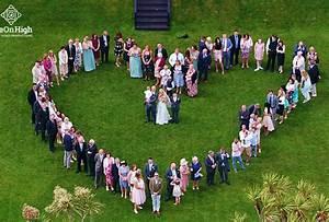 wedding videography cornwall drone wedding videos With drone wedding photos