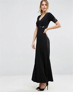 Robe Simple Mariage : robe longue noire simple habillee pour mariage la robe longue ~ Preciouscoupons.com Idées de Décoration