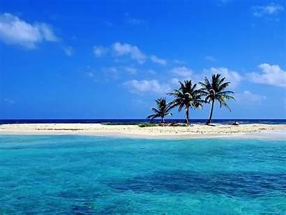 Beach Desktop Backgrounds Wallpapers Beaches Belize Island
