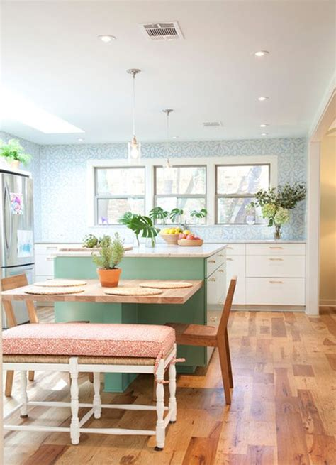 kitchen table islands 30 kitchen islands with tables a simple but clever combo