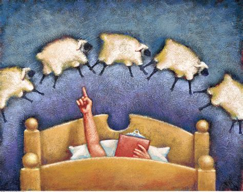 bed cusion counting sheep to mere myth or gift for insomniacs