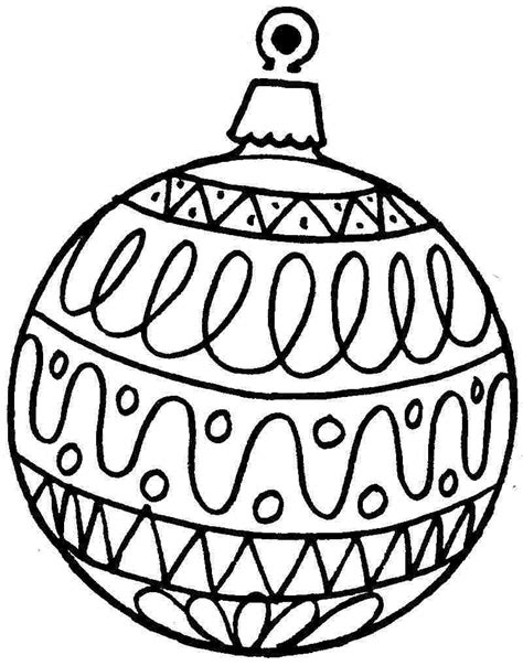 7 best images of free printable ornament coloring pages free printable - Christmas Ornaments To Color