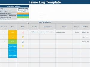 Download An Issue Log Excel Template C By Ex Deloitte Consultants