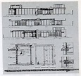 Schindler-Chace House | Schindler house, Diagram, Architecture