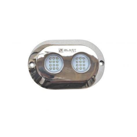 Surface Mount Underwater Boat Lights by Led Underwater Light Transom Surface Mount Um24