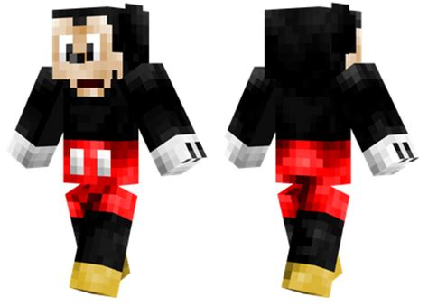 mickey mouse minecraft skins