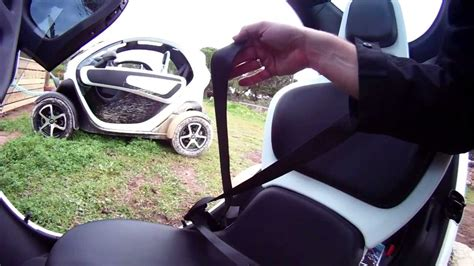 renault twizy interior renault twizy interior youtube
