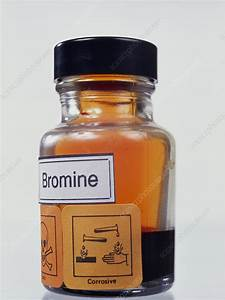 Bromine - Stock Image A150  0311