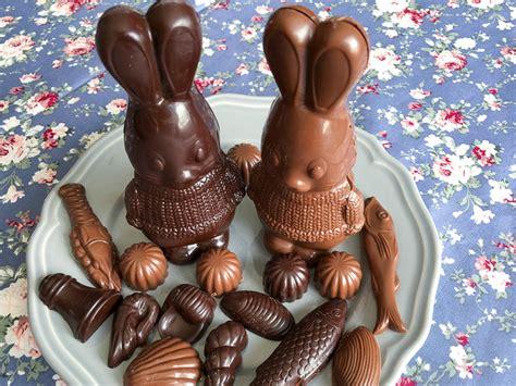 lapins de paques au chocolat lapins en chocolat au lait