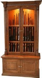 plan ideas  gun cabinet woodworking plans