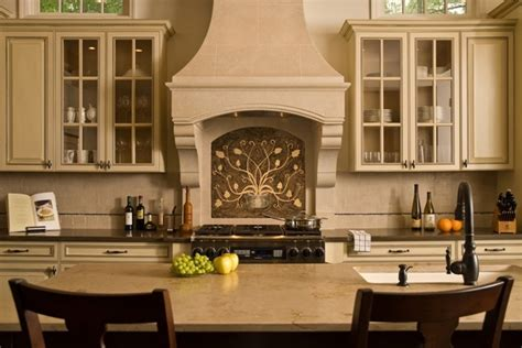 Country French Living Rooms Houzz by The Toulouse Kitchen Range Hood Francois Amp Co Kitchen