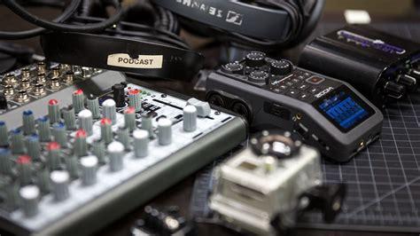 podcasting equipment for various budgets tech talks central medium